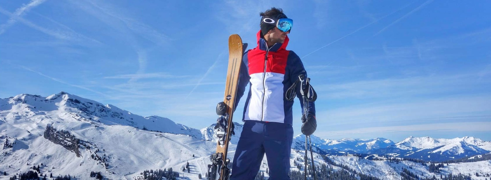 Skis Marcel Livet