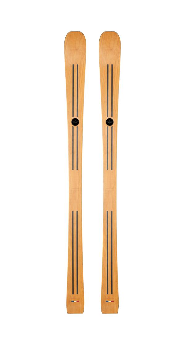 le ski en bois MARIUS, ski en bois artisanal français hommes