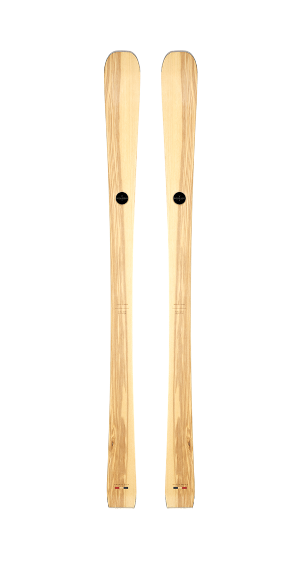 wooden skis MARIUS, wooden skis mens, wooden skis made in france