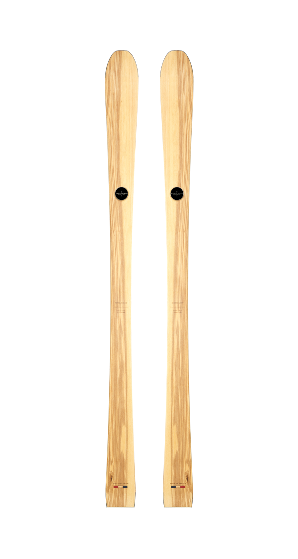 wooden skis maryse, wooden skis for women